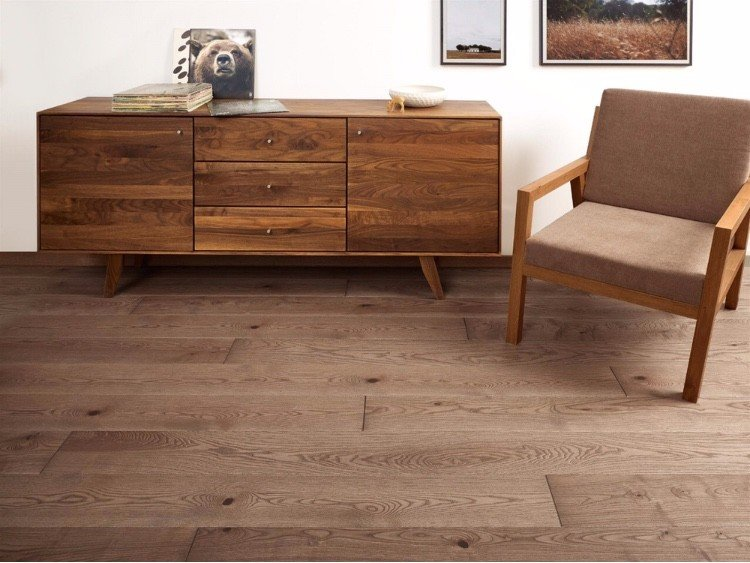 piso de madera especie fresno