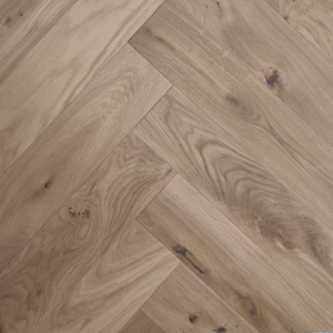 European White Oak Herringbone Pisos de Madera