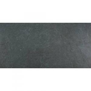 Amalfi Antracita 60x120 Porcelanato Tipo Piedra Color Negro