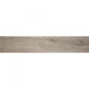 Porcelanato de España Myrcella Grey formato 23 x 120 tipo madera color gris